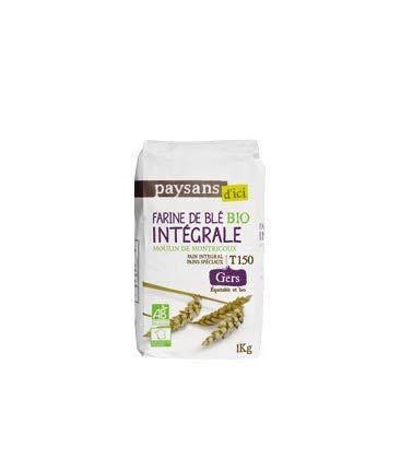 Farine de Blé Intégrale T150 bio & équitable