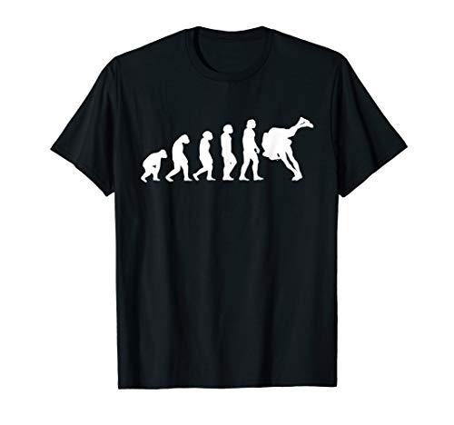 Lustig Wrestling Ringen Evolution Spruch Wrestler T-Shirt