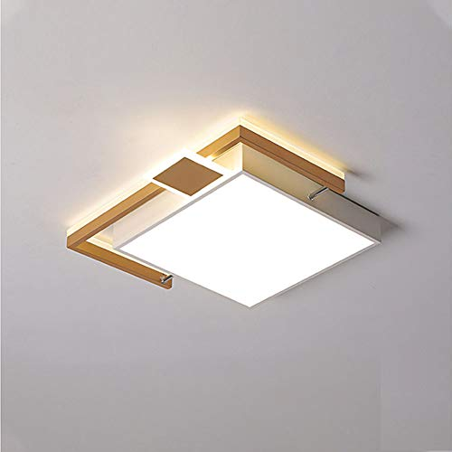 ZZOOK Led-plafondlamp, decoratief, dimbaar, modern, rond, acryl, strijken, geschikt voor thuis, deuren, spiegels