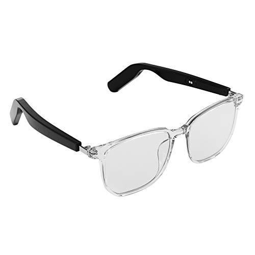 Basage Gafas Inteligentes TWS Auriculares InaláMbricos de ConduccióN óSea a Prueba de Agua Auriculares Deportivos MúSica Gafas de