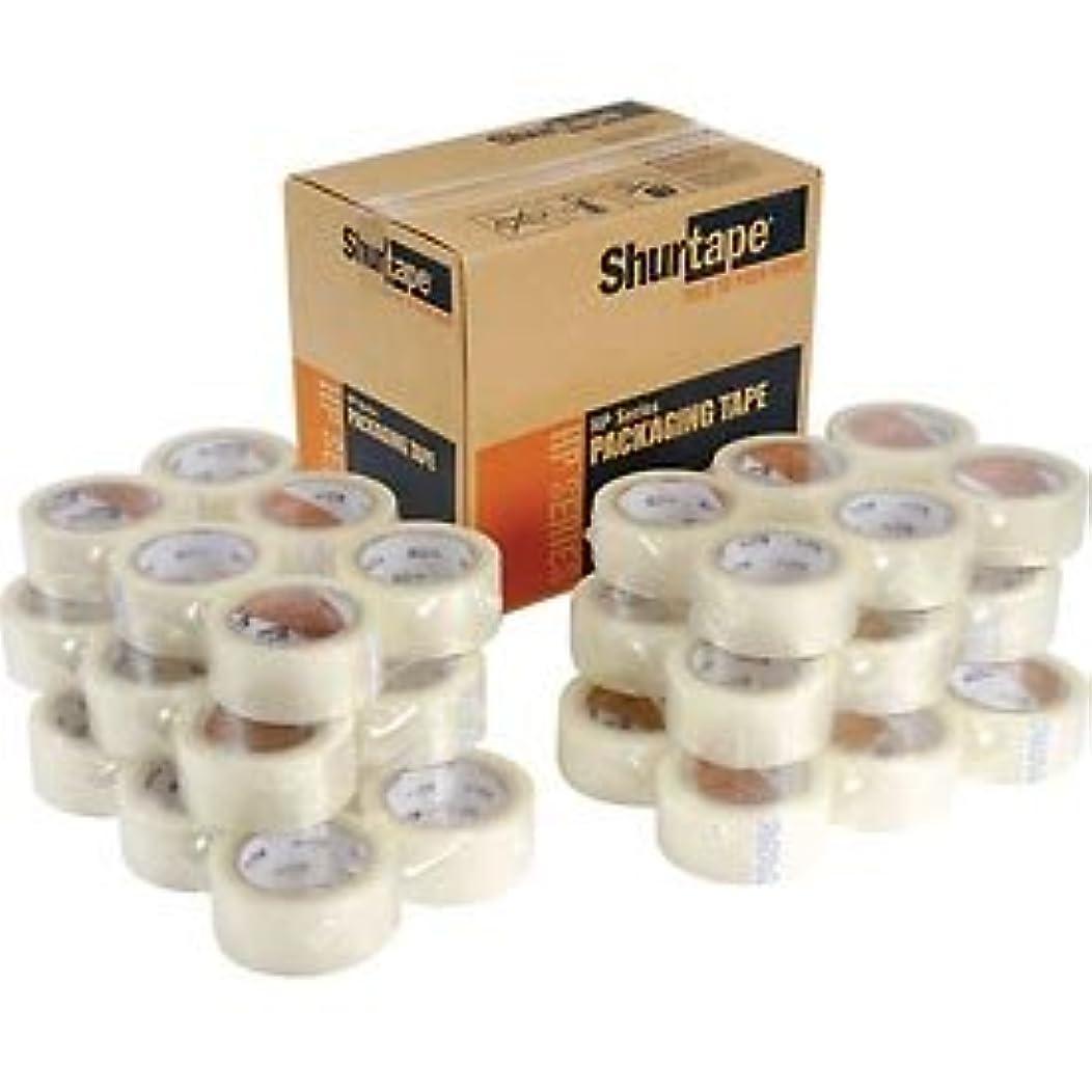 Shurtape 159644 HP200 48mm x 100m Clear Prod Hot Melt BOPP Film Packaging Tape