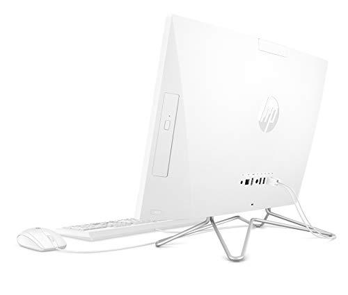 HP 24-df0013ng (23,8 Zoll / Full HD Touch) All-in-One PC (Intel Core i5-1035G1, 8GB DDR4 RAM, 512 GB SSD, Intel UHD Grafik, Windows 10) weiß