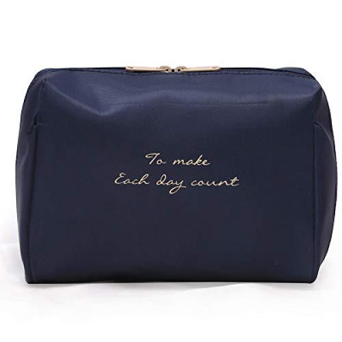 DSHHF Trousse de Toilette Femmes Cosmetic Bag Voyage Make Up Solid Bags Mode Dames Maquillage Pochette Neceser Organizer Kits Trousse De Toilette