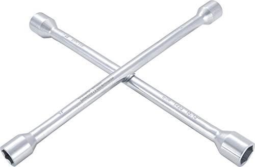BGS 1455 | Rad-Kreuzschlüssel | für PKW | SW 17mm x 19 mm x 22 mm x 13/16