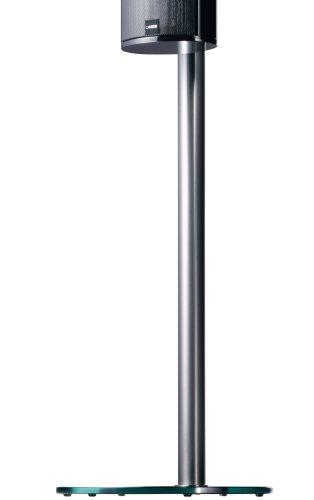 Canton LS 250 Standfuß Paar für Lautsprecher schwarz/silber