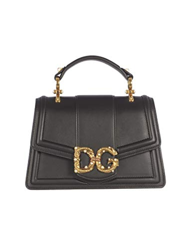 Luxury Fashion   Dolce E Gabbana Donna BB6675AK2968B941 Nero Borsa A Mano   Primavera Estate 19