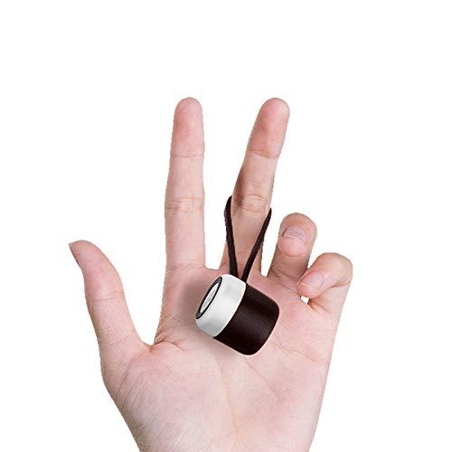 Eageroo Bluetooth Mini Lautsprecher tragbar Speaker,Stereo Klang mit tiefem Bass Technologie,TWS,schwarz