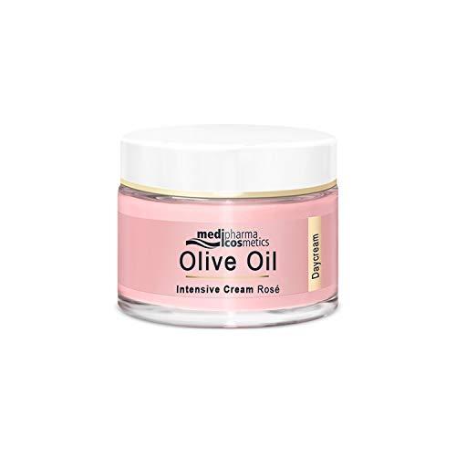medipharma cosmetics Olivenöl Intensivcreme Rosé Tagescreme, 50 ml