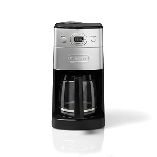 Cuisinart Grind and Brew Automatic | Bean to Cup Filter Coffee Maker | Glass Carafe | DGB625BCU
