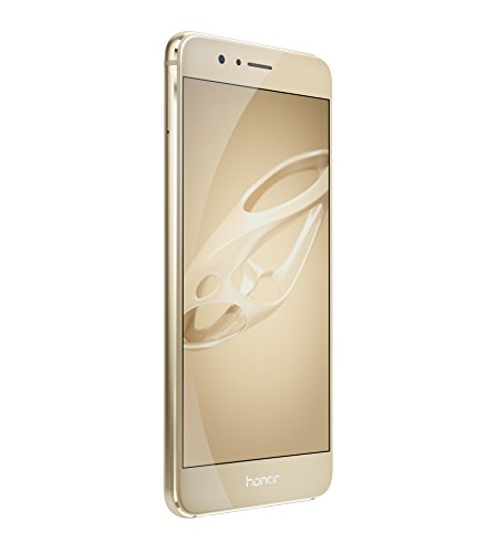 Honor 8 Premium Smartphone (13,2 cm (5,2 Zoll) Touchscreen, 64GB interner Speicher, Android OS) gold
