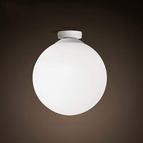 Plafondlamp LED lamp voor kledingwinkel Koreaanse lamp restaurant glazen bol wc plafondlamp Atmosphere American Clothing lamp