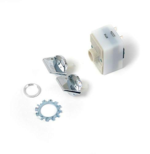 Whirlpool 675382 Trash Compactor On Off Start Switch and Knob For Whirlpool Maytag