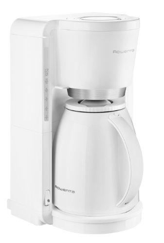Rowenta CT3801 Adagio Thermo Kaffeemaschine, 8 bis 12 Tassen 1.25 L, weiß