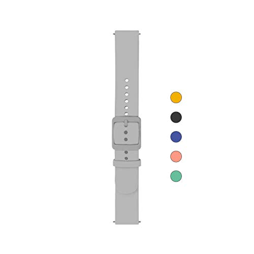 Withings Unisex-Adult Armband, grau, 18mm