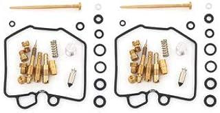 Set of 2 Deluxe Carburetor Rebuild Kits - Fits Honda CB450T CB450SC CM450A CM450C