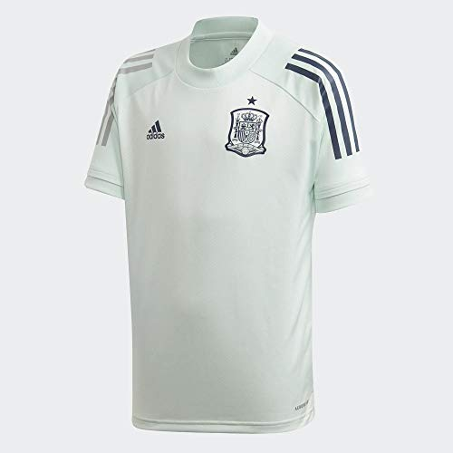 adidas Selección Española Temporada 2020/21 Camiseta Entrenamiento, Unisex, Dash Green, 176