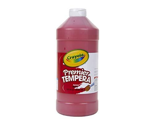 Crayola Premier Tempera Paint Red, 32-oz. Size, 1 Unit, Quart