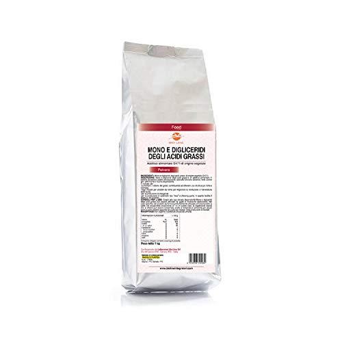 Mono e digliceridi degli acidi grassi (E471) - Additivo alimentare di origine vegetale, 1 Kg