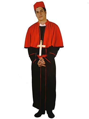 Atosa Disfraz de Obispo Rojo - Hombre, L