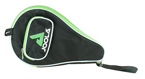 JOOLA Tischtennishülle TT-Hülle Pocket Passend für 1 Tischtennisschläger und 3 Tischtennisbälle, Green, One Size