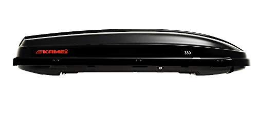 Kamei Dachbox Modell 330 - Schwarz Hochglanz (08132621) 330 L rechts öffnend