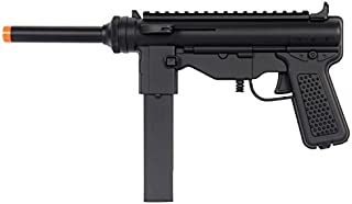 UK ARMS M302F Spring Airsoft Pistol Uzi Gun - Black