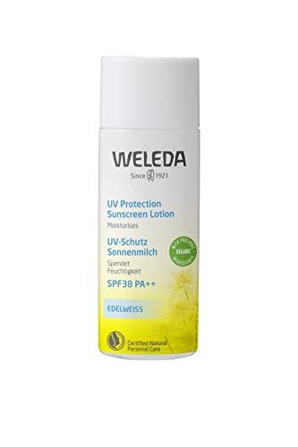 WELEDA(ヴェレダ) エーデルワイスUVプロテクト SPF38 PA++ 50mL 【顔&からだ用・化粧下地として・赤ちゃん...