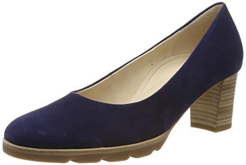 Gabor Shoes Damen Comfort Fashion Pumps, Blau Bluette 36, 38 EU
