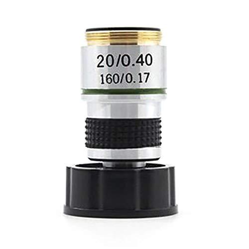 Sonline 185 Mikroskopobjektiv 20X ACHromatisches Objektiv Zubeh?R für Biologische Mikroskopteile
