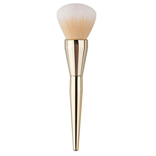 1Pc Maquillage Cosmétique Pinceaux Kabuki Visage Blush Brush poudre outil Fondation (Or)