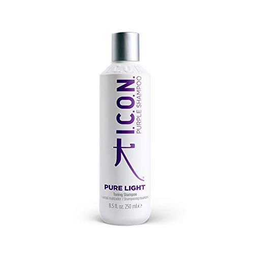 I.C.O.N. Purple Pure Light Champú Matizador 250ML, Único, Estándar