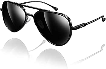 Bircen Classic Aviator UV Protection Polarized Sunglasses
