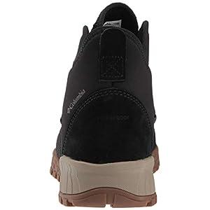Columbia Men's Fairbanks 503 Fashion Boot, Black, mud, 10.5 Regular US