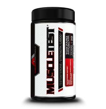 Muscle Test, Testosterone Booster, All Natural (180 Capsules)