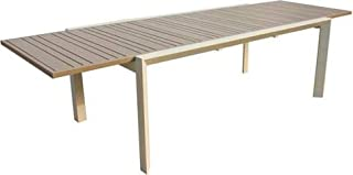 Amazon.fr : table extensible taupe