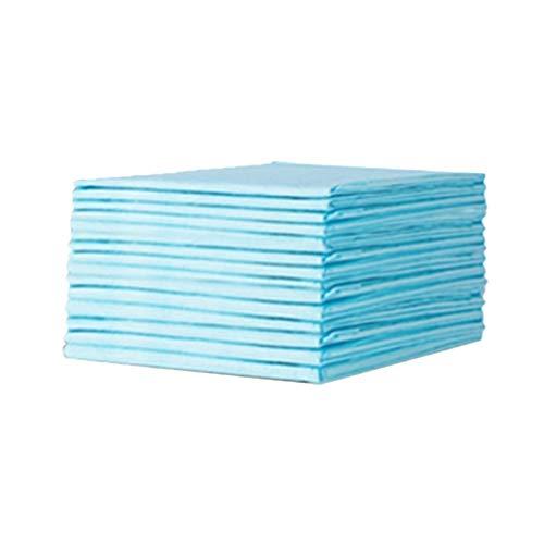 Exceart 60 Stks Wegwerp Onderleggers Incontinentie Bed Pads Covers Waterdichte Super Absorberende Luier Sheet Protector Voor Kinderen Volwassen Huisdier