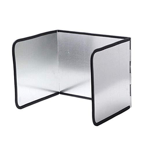 Brands - Placa antisalpicaduras plegable, protección de pantalla antisalpicaduras, protección para la cocina y la cocina, protector de pantalla antisalpicaduras para cocina (pequeño)