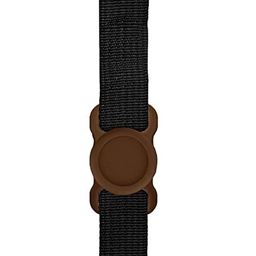 ANGSUANG Caja Protectora de Silicona para Mascotas Perro para Perros Cuello de Cuello Bucle Compatible Accesorios para Mascotas (Color : Brown)