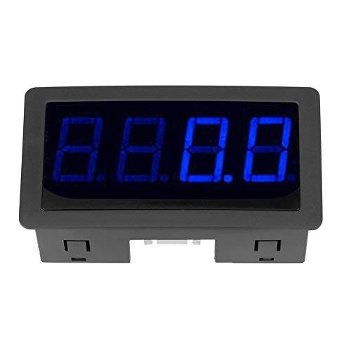 4 Digital LED Display Tachometer Drehzahlmesser RPM Geschwindigkeit Meter Panel Induktive Hall NPN Sensor Näherungsschalter Sensor(Blau)