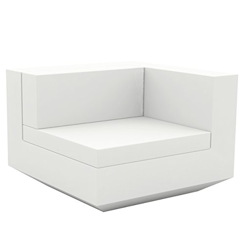 Vondom Vela Sofa Izquierdo Blanc