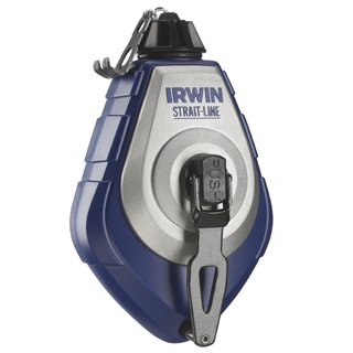 2 Pack Irwin 2031318DS Strait-Line 100' Speed-Line Pro Chalk Reel 3.5:1 Gear Ratio