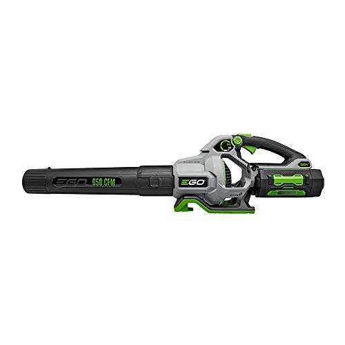 EGO Power+ LB6504 650 CFM Variable-Speed 56-Volt Lithium-ion Cordless Leaf Blower 5.0Ah Battery and Charger Included