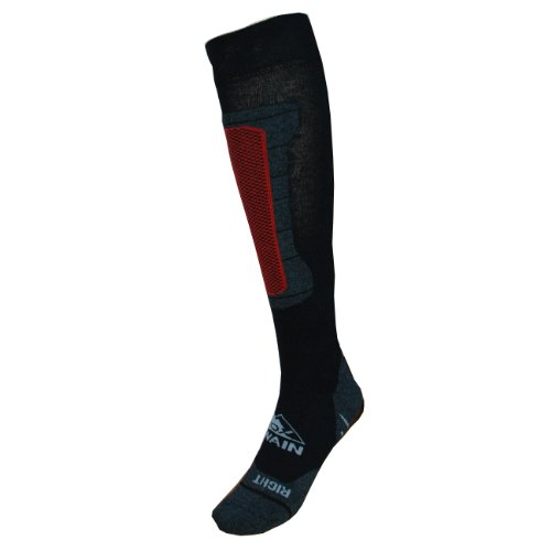 Cox Swain Ski- und Snowboard Funktions Socken Titanium, Size: 31-34