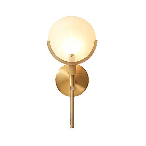 SMC Américain Minimaliste Lampe de chevet Nordique Salon Lumière Couloir Couloir Lampe Escalier Chambre Simple Lampe Murale En Cuivre