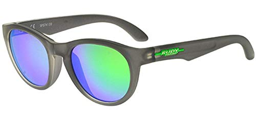 RUDY PROJECT Sonnenbrillen WARP SP 37 ICE GREY/MULTILASER GREEN 50/23/140 Herren