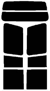 株式会社セブン ハードコートフィルム ミツビシ パジェロ 5ドア V43W・V44W・V44WG・V45W・V46W・V46WG リヤーセット カット済みカーフィルム ダークスモーク