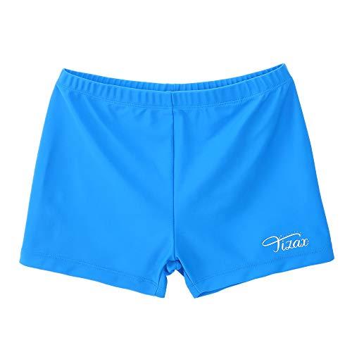 TIZAX Boxers de Natación para Niños UPF 50+ Protección Solar Bañador para Niño Azul...