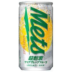 キリン Mets(メッツ) 超刺激クリア グレープフルーツ 190ml缶×20本入×(2ケース)