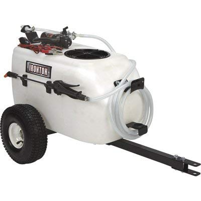 Ironton Tow-Behind Trailer Broadcast and Spot Sprayer - 13-Gallon...