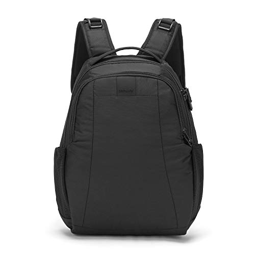PacSafe Metrosafe LS350 Anti-Theft 15L Backpack Mochila Tipo Casual, 42 cm, 15 Liters, Negro (Black 100)